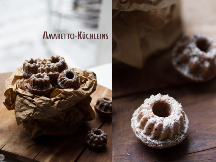18 klitzekleine Amaretto-Küchleins