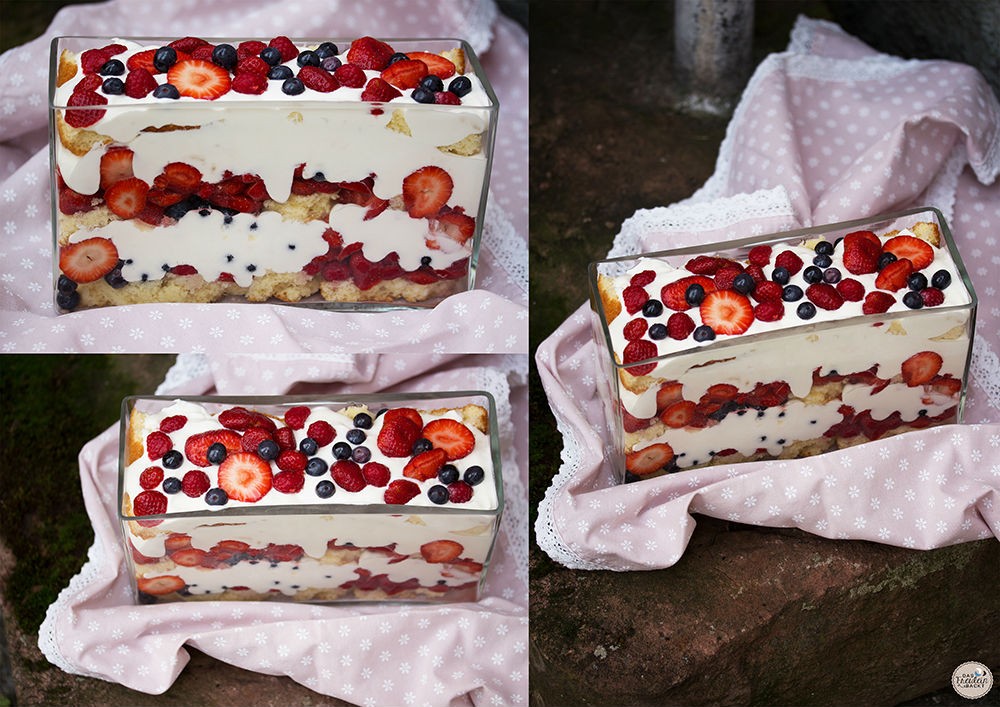 Trifle-mit-roten-Beeren