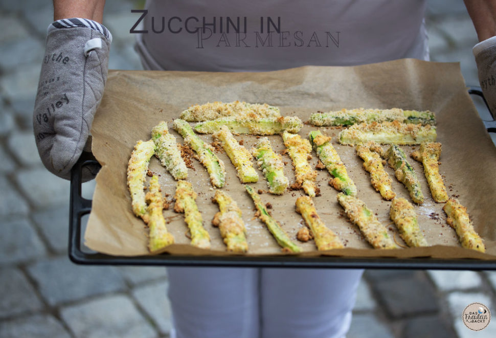 Zucchini in Parmesan