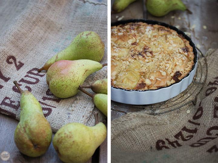 Wir lieben heute Birnenkuchen! Und Ihr so?