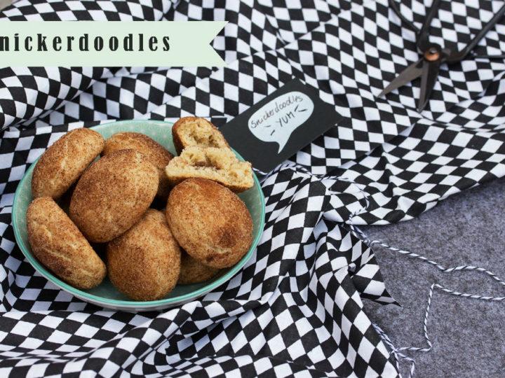 Soft-Knack-Snickerdoodles mit Nougat!