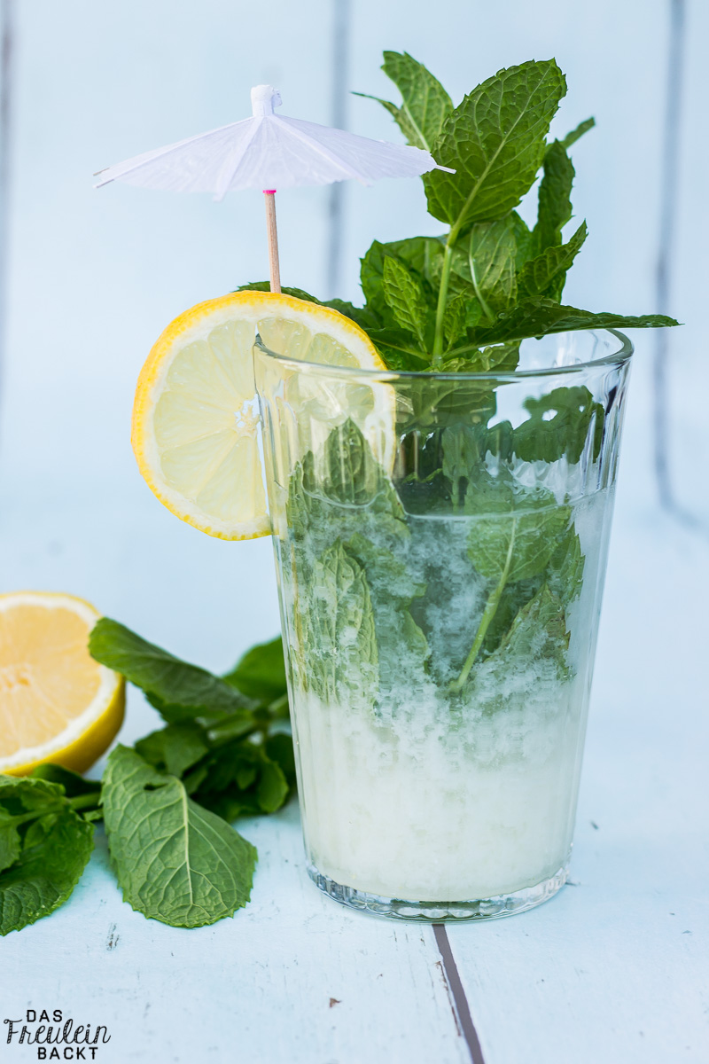 Kokosnuss-Minz-Limonade